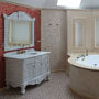 Realization. Master bathroom